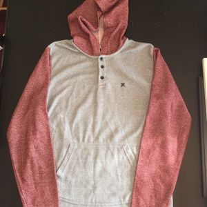 Men's Hurley Waffle Hoodie Size L